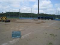 グラウンド整備施工前