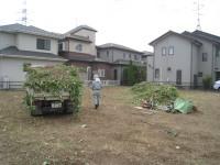 草刈り施工後